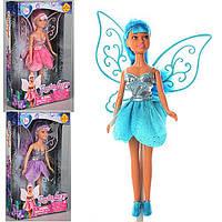 """Игрушечная кукла DEFA """"Фея"""" 8317 21см, фея, с крыльями, в коробке 24*14.5*5см"""