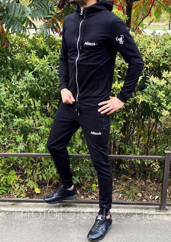 Спортивный костюм Miracle - Example черный кофта с капюшоном