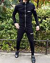 Спортивний костюм Miracle - Example чорна кофта з капюшоном, фото 5