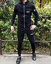 Спортивный костюм Miracle - Example черный кофта с капюшоном, фото 2