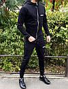 Спортивний костюм Miracle - Example чорна кофта з капюшоном, фото 3