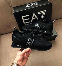 Чоловічі кросівки Emporio Armani D10253 чорні