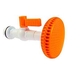 Комплект душової пластиковий 9 см