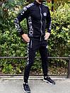 Спортивний костюм Miracle - Sketch чорна кофта з капюшоном, фото 3