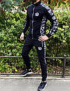 Спортивний костюм Miracle - Sketch чорна кофта з капюшоном, фото 4