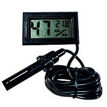 Цифровий термометр-гігрометр з виносним датчиком (ЦТМ-14)
