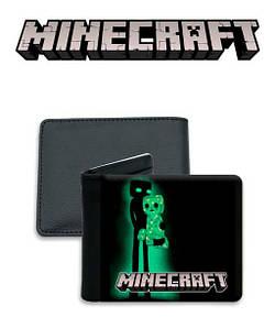 "Кошелек Майнкрафт ""Neon"" / Minecraft"