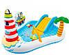 Надувний ігровий центр Intex 57162 «Весела Рибалка», 218 x 188 x 99 см