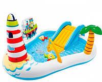 Надувний ігровий центр Intex 57162 «Весела Рибалка», 218 x 188 x 99 см, фото 1