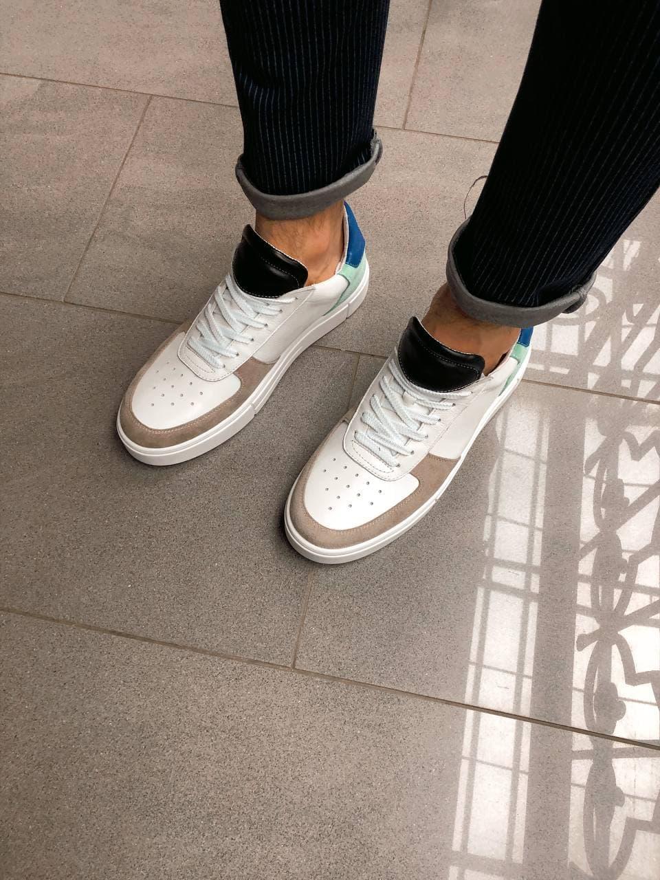 Чоловічі кросівки. Шкіряні кросівки.