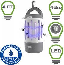 Акумуляторний ліхтар від комах Noveen IKN851 LED IP44