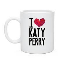 Кружка I love Katy Perry