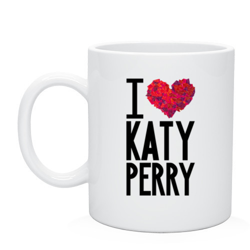 Кружка I love Katy Perry