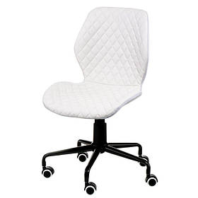 Крісло офісне Ray біле для персоналу
