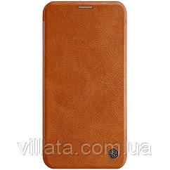 "Кожаный чехол (книжка) Nillkin Qin Series для Apple iPhone 11 Pro Max (6.5"")"