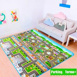 Детский термо коврик Dream Kid 120*180 см, влагостойкий, двусторонний