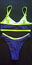 Женский раздельный купальник спортивний жіночий роздільний купальник, фото 3