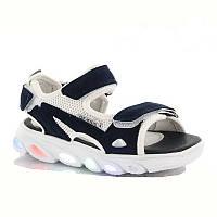 Спортивні босоніжки, сандалі з мигалками. Розміри 23, 24, 25, 26, 27.
