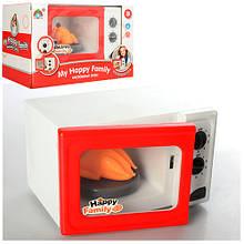 Дитяча іграшкова мікрохвильовка 5217 зі звуком і світлом