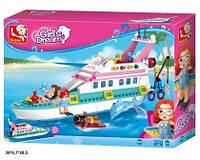 Конструктор M38-B0609 Girl's Dream яхта 328дет.кор.38*6,7*28,5 /16/ (M38-B0609)