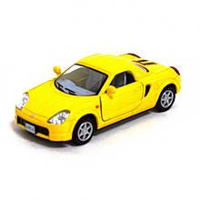 Модель машинки KT5026W Toyota MR2 (Yellow)