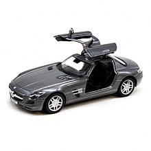 Машинка металева KT5349W Mercedes-Benz SLS AMG (Black)