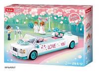 Конструктор M38-B0767 Girl's Dream весільний лімузин 204дет.кор.33*5,4*23,7 /32/ (M38-B0767)