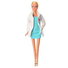 Лялька типу Барбі доктор DEFA 8348 з донькою
