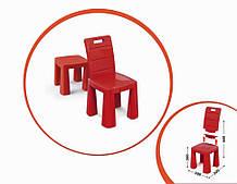 Дитячий стілець-табурет 04690/1/2/3/4/5 висота табуретки 30 см (Червоний)