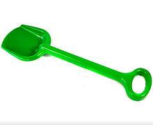 Іграшкова лопата для пісочниці №1 013955 велика (Зелена)