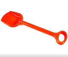 Іграшкова лопата для пісочниці №1 013955 велика (Помаранчева)