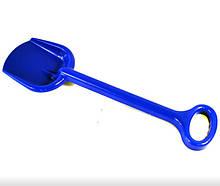 Іграшкова лопата для пісочниці №1 013955 велика (Синя )