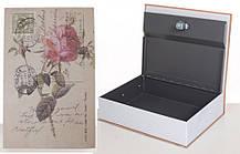 Книга-сейф MK 1847-1 на ключі (Троянда)