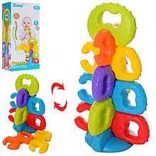Детская развивающая игра-пазлы 6189A, 8 деталей