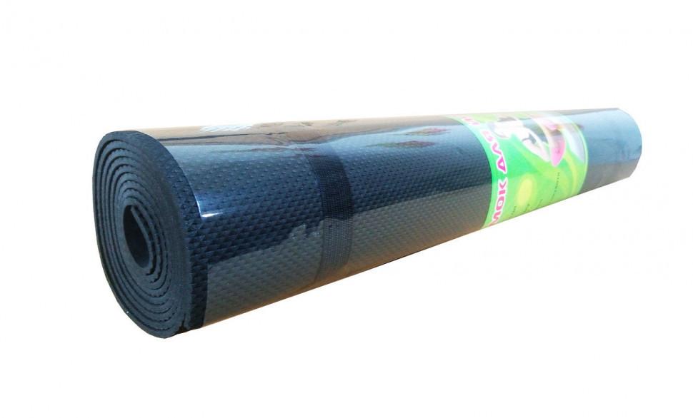 Йогамат, килимок для йоги M 0380-3 матеріал EVA (Чорний)