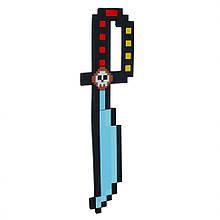 Іграшкова зброя Майнкрафт A01 матеріал EVA (Шабля)