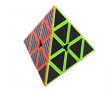 Кубик логика треугольный 594 с черными наклейками