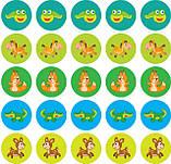 "Дитяча розвиваюча книга Мама і малюки ""Ведмежата"" 402863 з наклейками, фото 2"