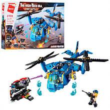 Конструктор типу лего Вертоліт Qman 2709, 318 деталей