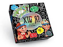Настольная игра ХТО Я? 7621DT, на укр. языке