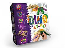 """Набір креативного творчості Динозаври """"Dino Fantasy"""" DF-01-01U для створення динозавра"""