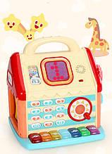 Детская развивающая игра Домик с пианино KD3602 музыкальный