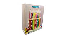 Подарочный пакет 7503-5M-1/2/3/4, размер 26х32х10 см (Торт)