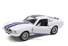 Модель машинка KT5372W Ford Selby GT-500 1967 (White)
