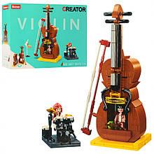 Конструктор типу лего Скрипка SLUBAN M38-B0817, 308 деталей