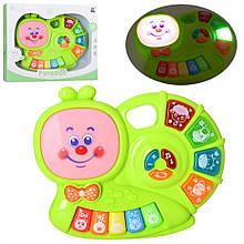 Дитяче іграшкове піаніно CY-7032B зі світлом