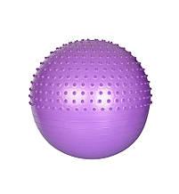 М'яч для фітнесу, Фітбол MS 1652, 65см (Фіолетовий)