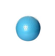 М'яч для фітнесу, Фітбол MS 1652, 65см (Блакитний)