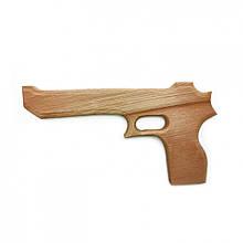 """Іграшковий пістолет """"Магнум Пустельний орел"""" 171915y дерев'яний"""