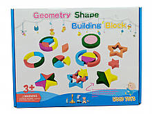 Розвиваюча іграшка Геометрика MD 2329 дерев'яна (2329B)